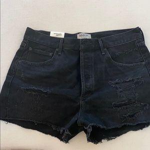 Ágolde Jaden Cut Off Shorts in Clash size 31
